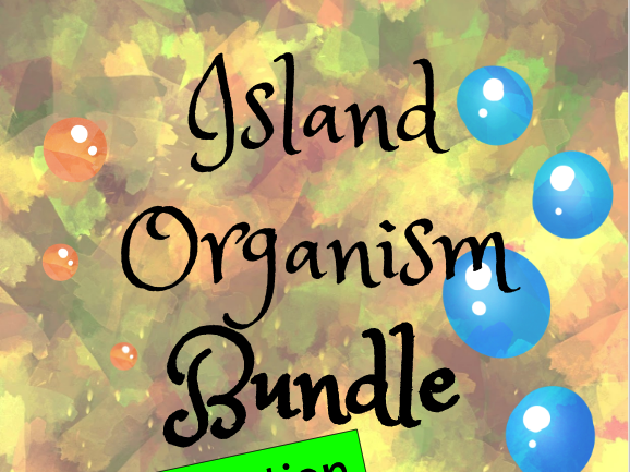 Island Organisms from Kensuke's Kingdom (Classification with Information Text)