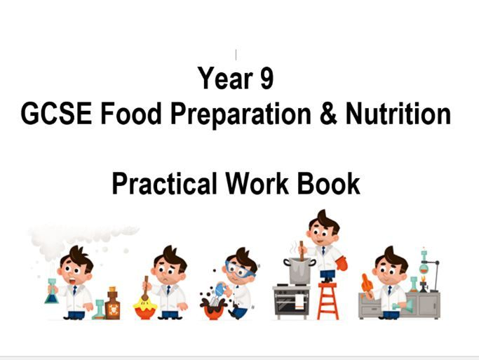GCSE Practical Recording Workbook