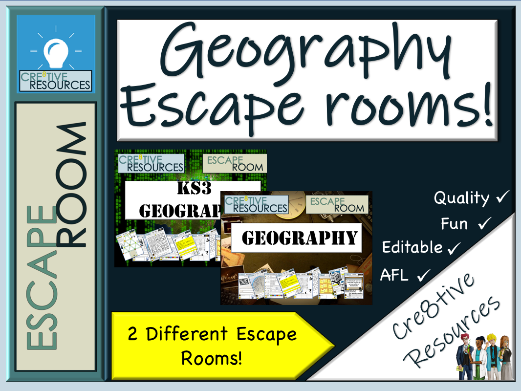 Geography Escape Rooms