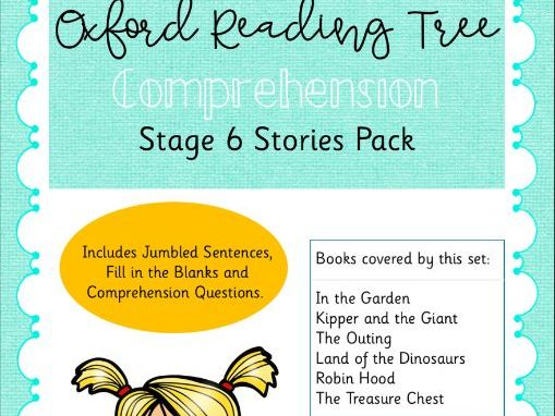 ORT - Oxford Reading Tree Stage 6 Comprehension Pack