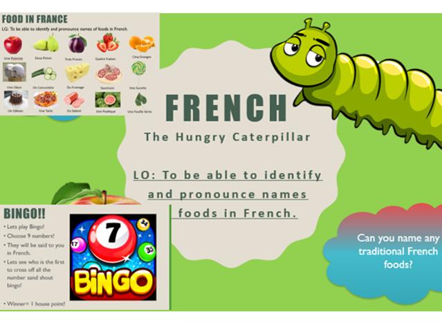 Upper KS2 French Lesson bundle (year 4, 5, 6)