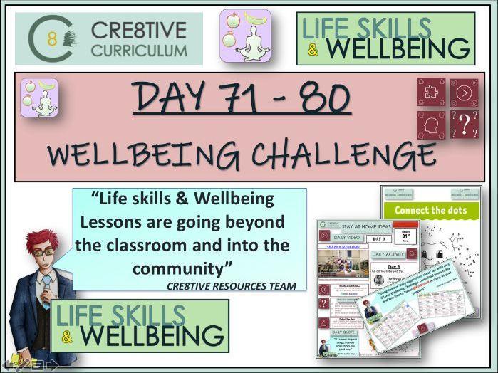Pack of Wellbeing Mental Health Activities PSHE