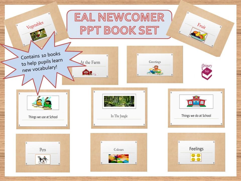 EAL / ESL Beginners PPT Book Set