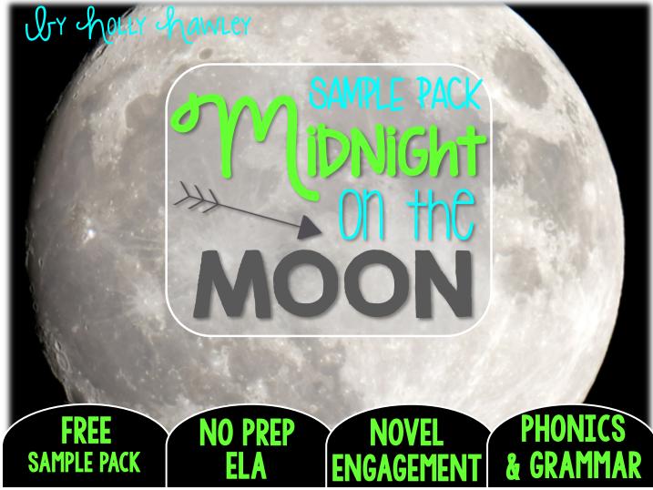 Midnight on the Moon NO PREP (ELA) SAMPLE