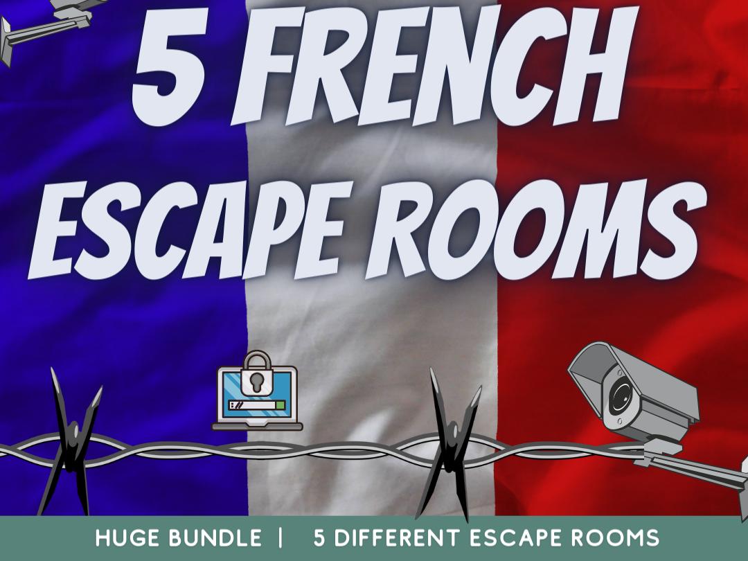 French MFL Escape Rooms