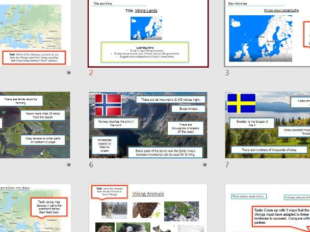 Viking Territories OCR History Viking expansion