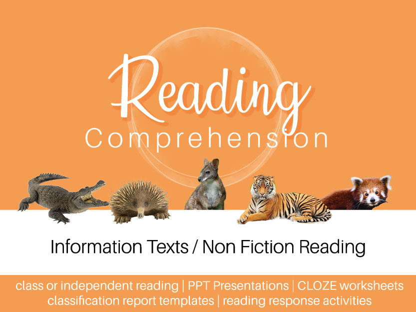 Information Texts - Animals Galore 1