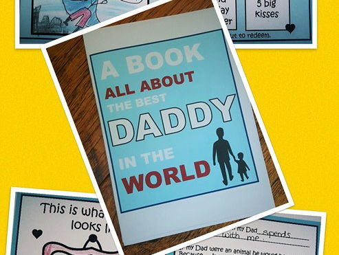 Fathers Day Booklet Keepsake FREE with code SUMMERSAVE if new to Tes