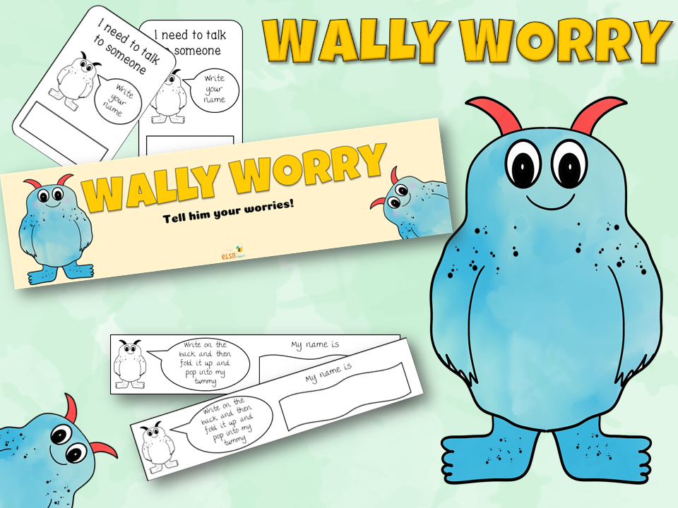 Wally the Worry Monster