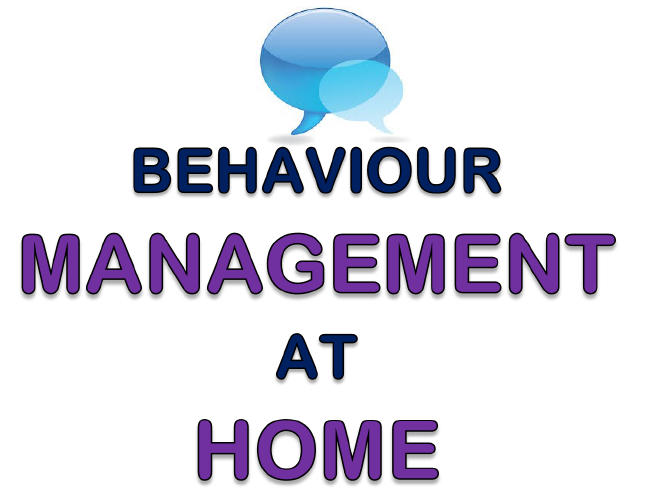 Behaviour Management at Home