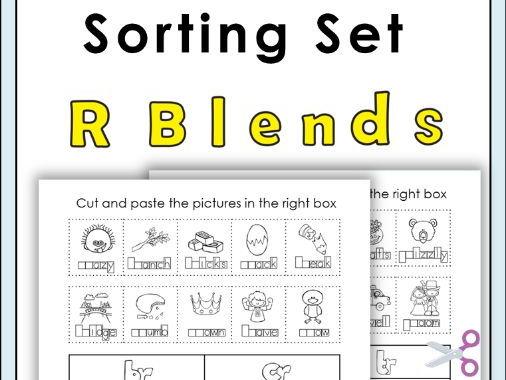 R Blends Sorting Set
