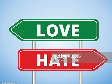 The Love Vs Hate English/Philosophy Lesson