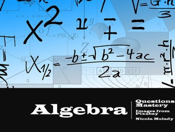 Year 6 Algebra Question Cards for Mastery