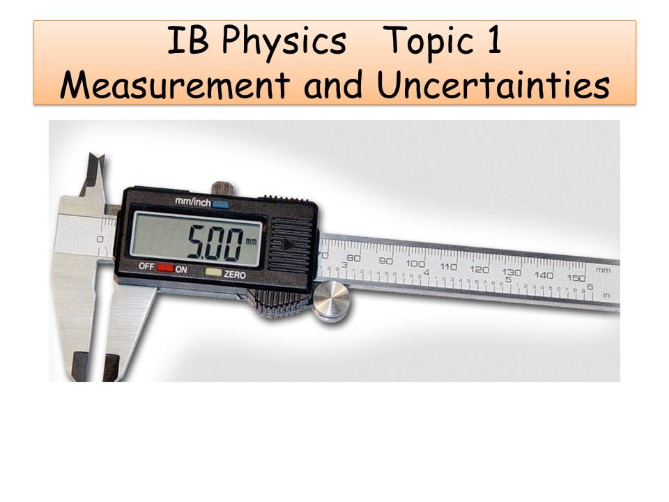 IBDP/ K-12 /AS A Level / Edexcel Physics Measurements Practice Test and Answer key