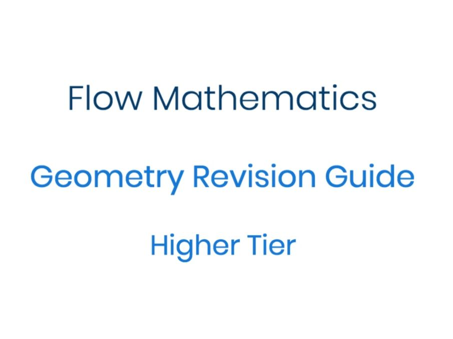 New 9-1 GCSE Geometry Revision Guide
