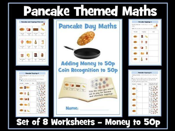 Pancake Day Maths: Money