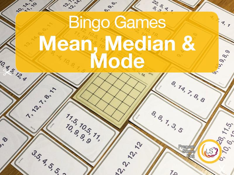 Averages | Bingo Game