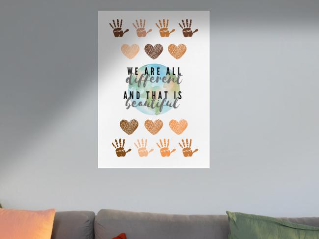 Cultural Diversity Display Posters