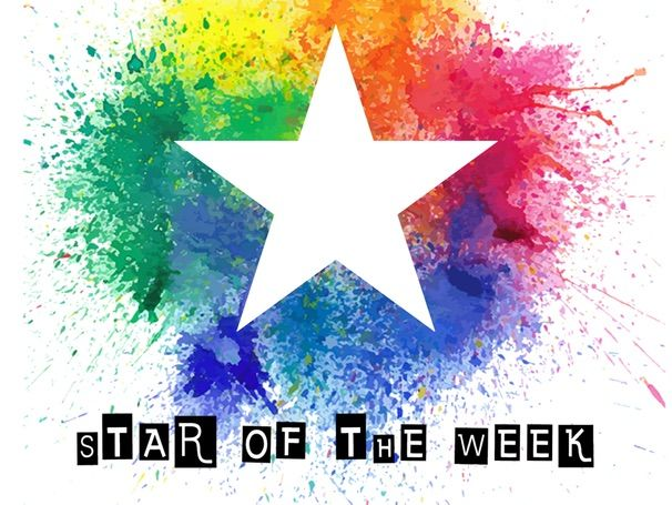Printable Star of the Week certificate sheet - Art and Design