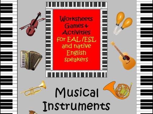 Musical Instruments for EAL /ESL/ ELL