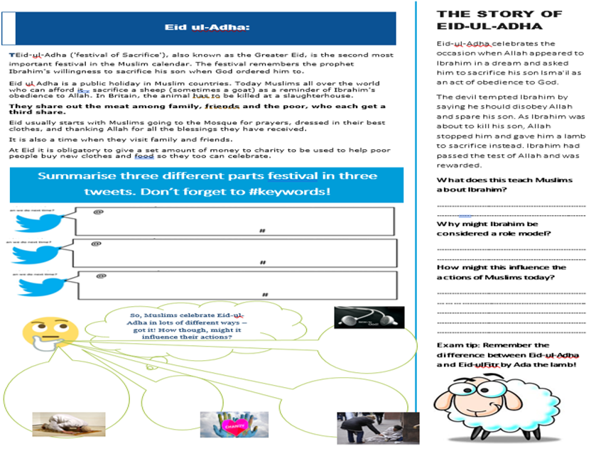 AQA Muslim Practices Work booklet