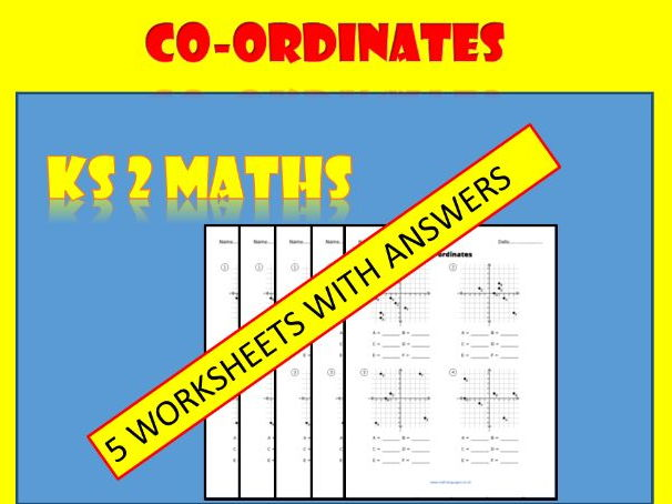 Co-ordinates worksheets