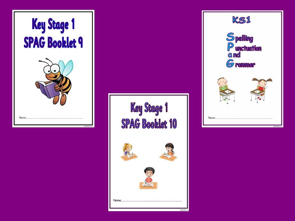 KS1 SPaG Booklets Bundle 3