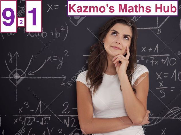 9-1 Maths Exam Paper - Grades 4 and 5 - 1F  Set 2 -New