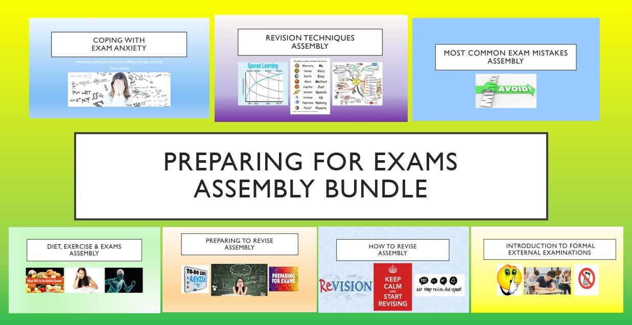 Preparing for Exams Assembly Bundle