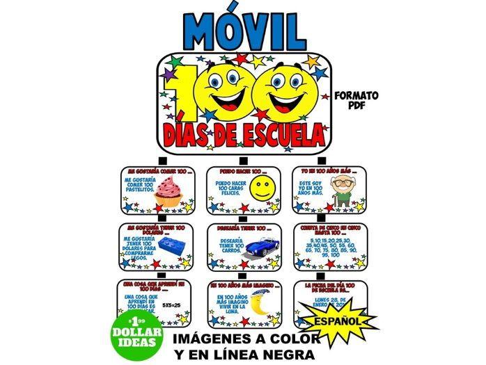 100 DÍAS DE ESCUELA | ACTIVIDADES | MÓVIL