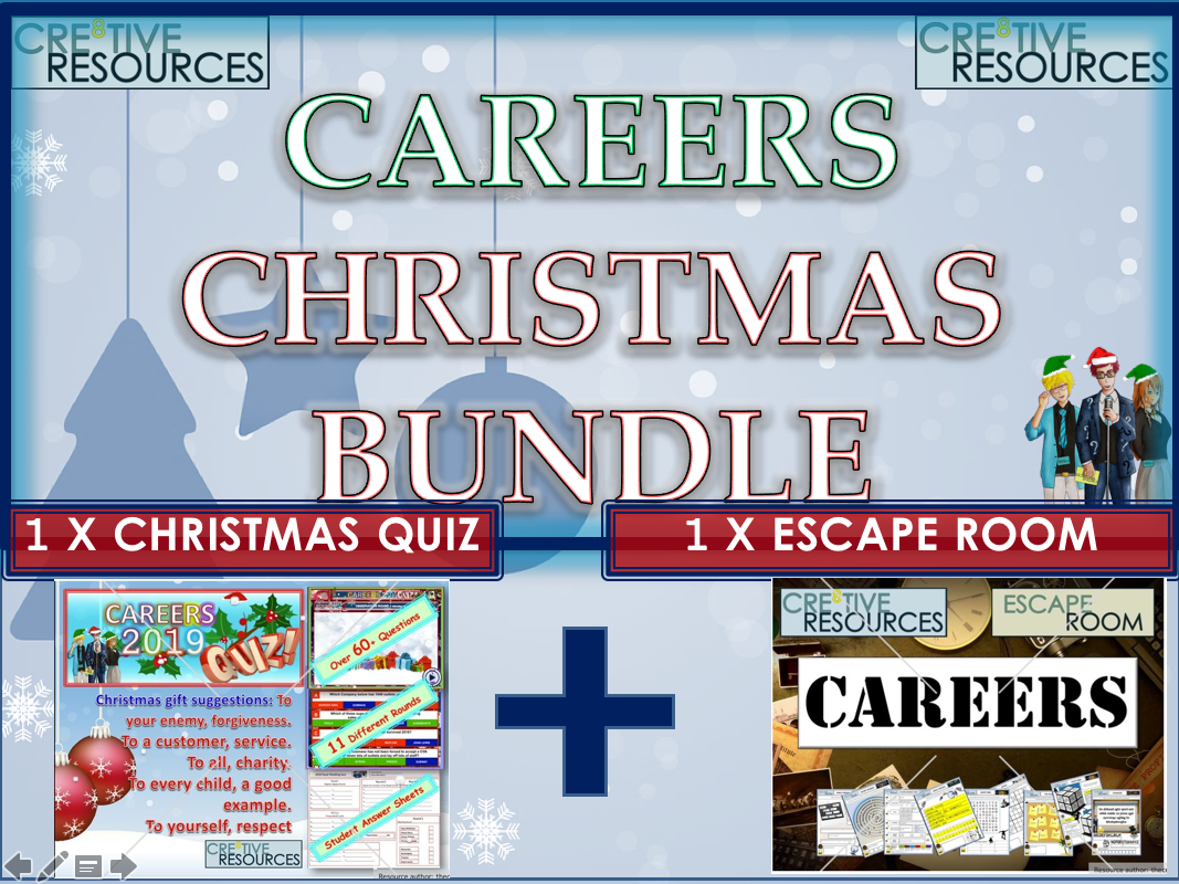 Careers Christmas Quiz Bundle