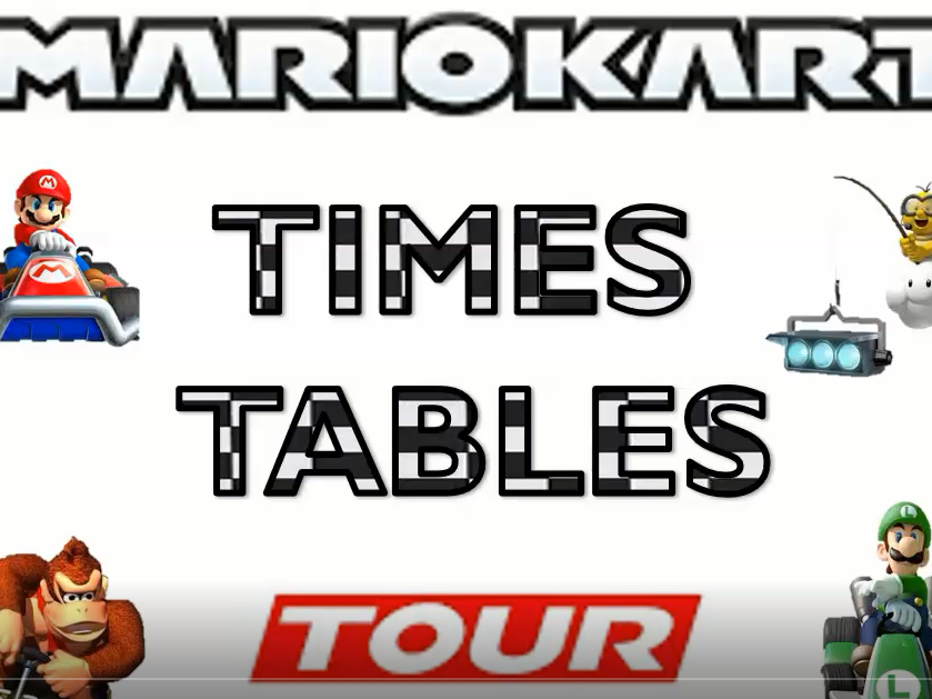 MarioKart LKS2 Times Table and Division Practise