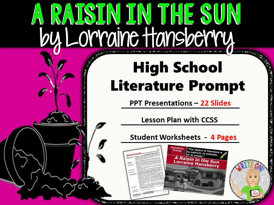 A Raisin in the Sun Lorraine Hansberry Text Evidence Analysis – A Raisin in the Sun Worksheets
