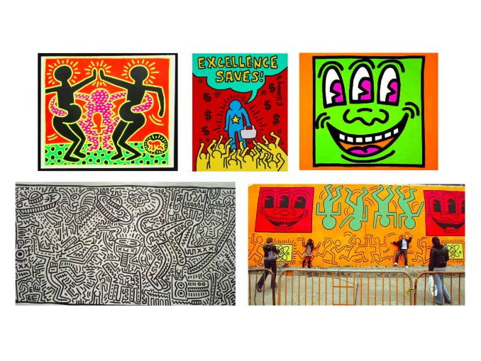 The Work of Keith Haring