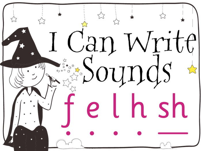 Magic Sounds Phonics: Set 4: f e l h sh