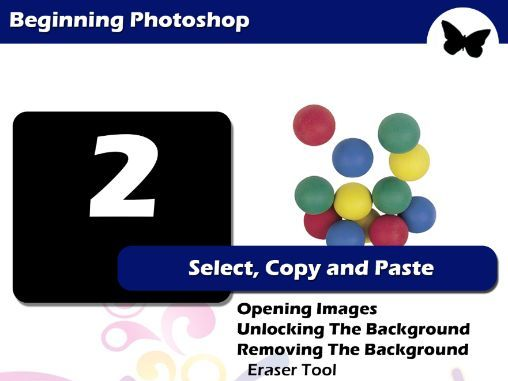 Beginning Photoshop - Select, Copy and Paste