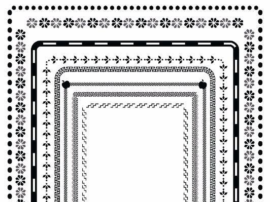 30 Borders Clip Art {Doodle Set 1}