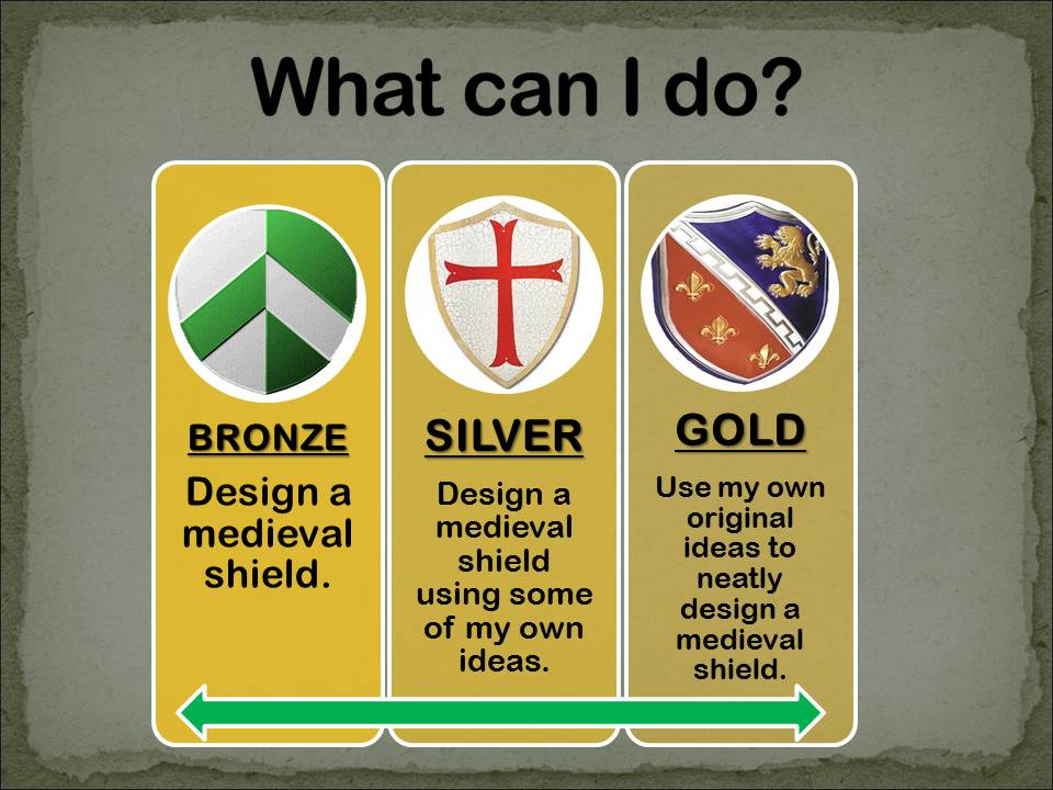 Art & History Design a Medieval Shield