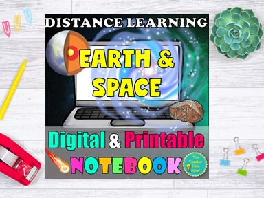 Earth and Space Distance Learning Bundle