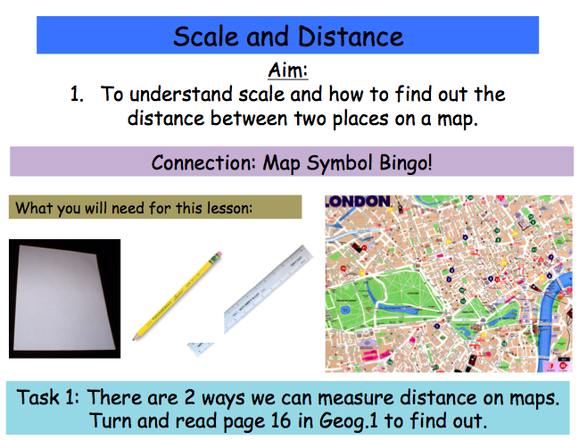 Map Skills: Scale and Distance