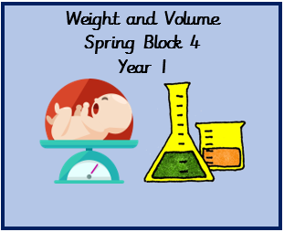 Weight and Volume Resources, Spring Block 4, Year 1