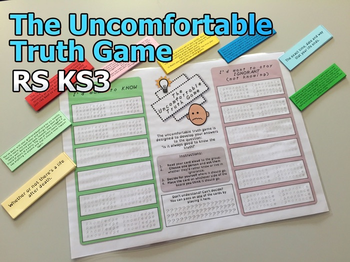 The Uncomfortable Truth Game