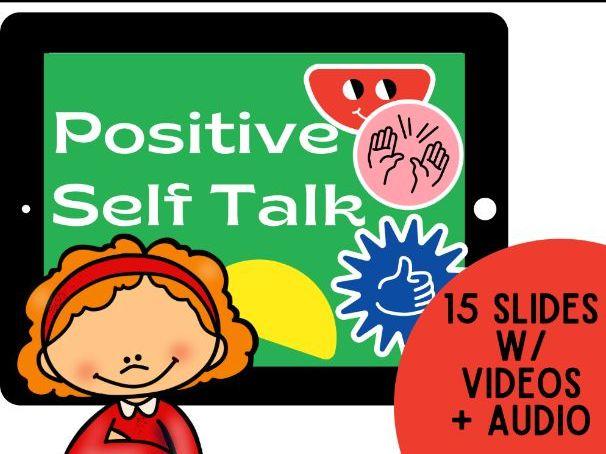Positive Self Talk: Boom Cards