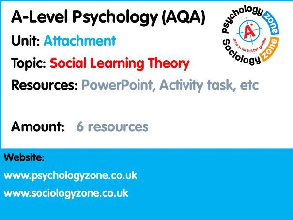 Learning Theory of Attachment