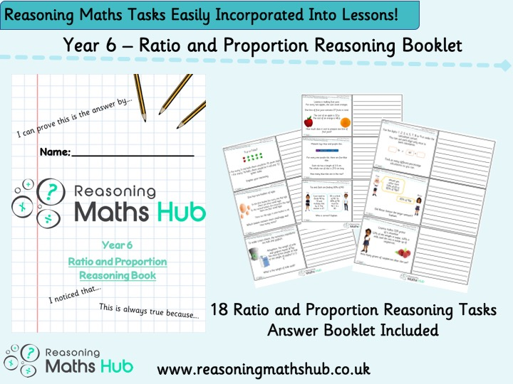 Year 6 - Ratio and Proportion Reasoning Booklets