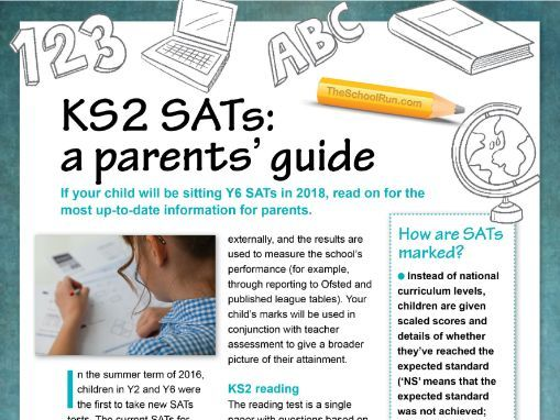 KS2 SATs 2018: a guide for parents