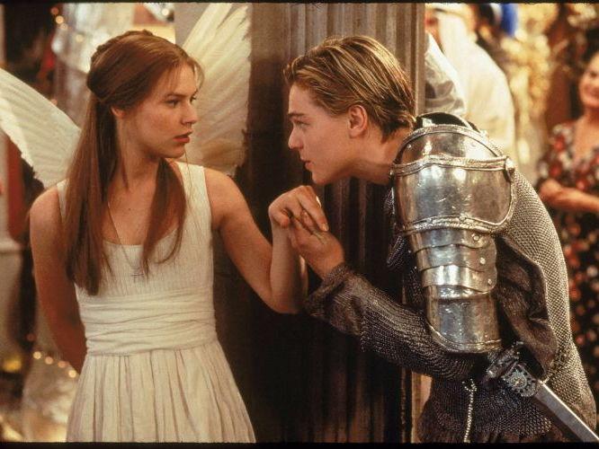 Shakespeare's Romeo and Juliet- When Romeo meets Juliet.