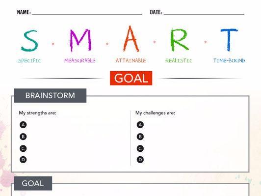 SMART Goal Template – ClassCrown™ Original