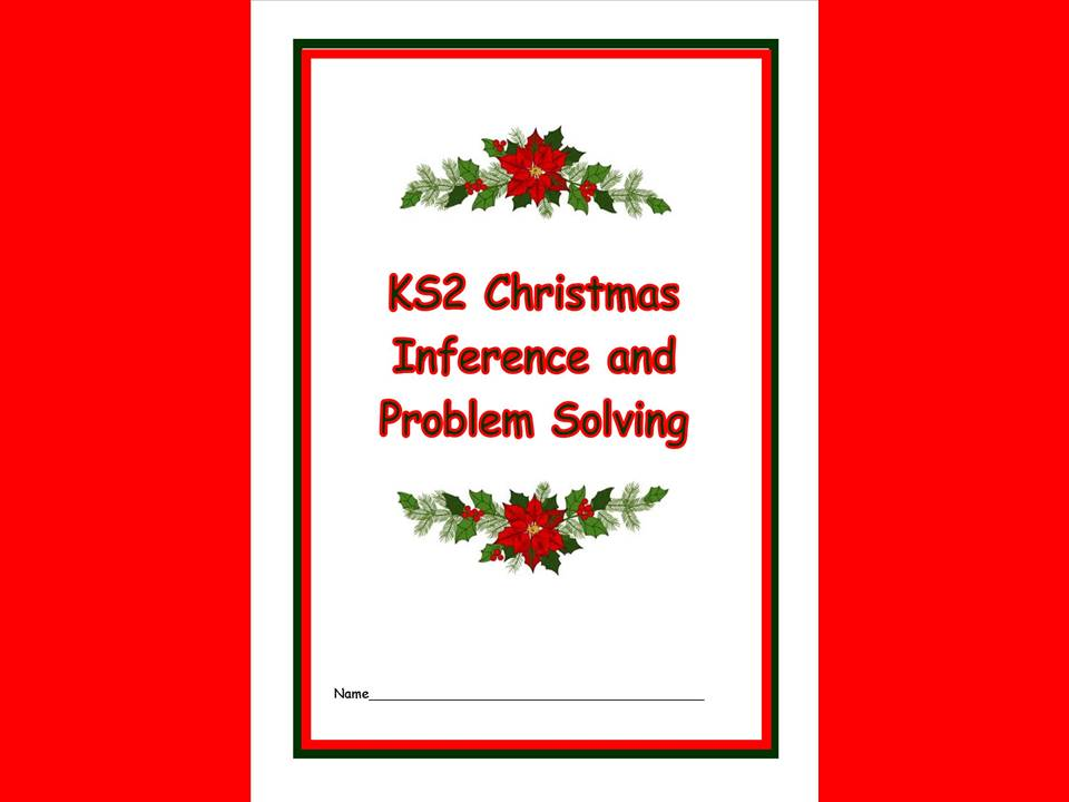 Christmas Inference and Problem Solving Booklet