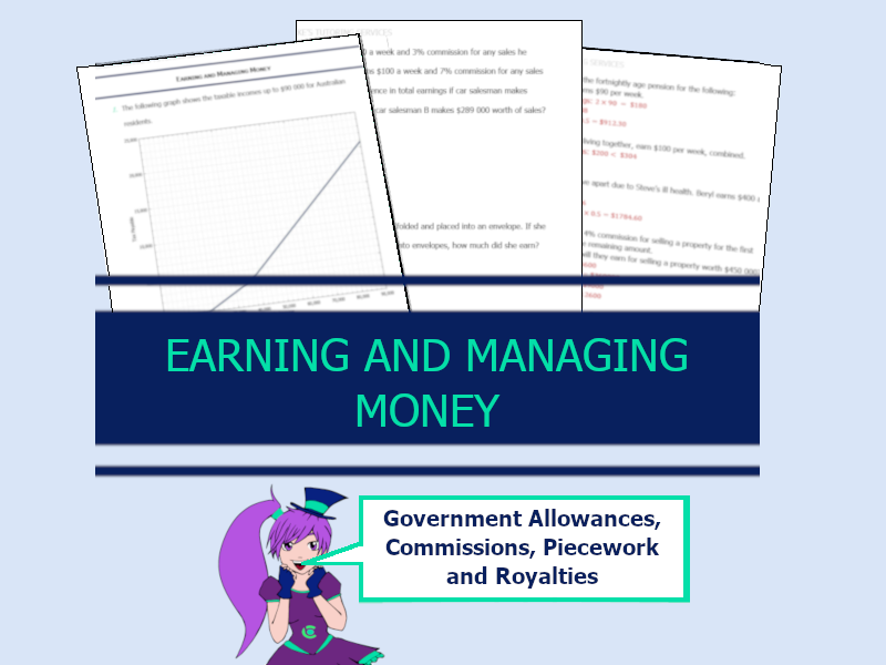 Year 11 Earning and Managing Money